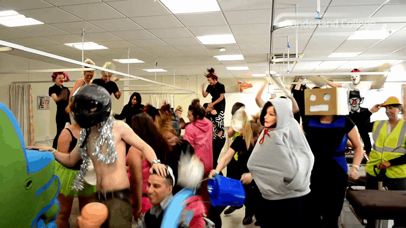 The Harlem Shake at Sunderland College's Hylton Campus