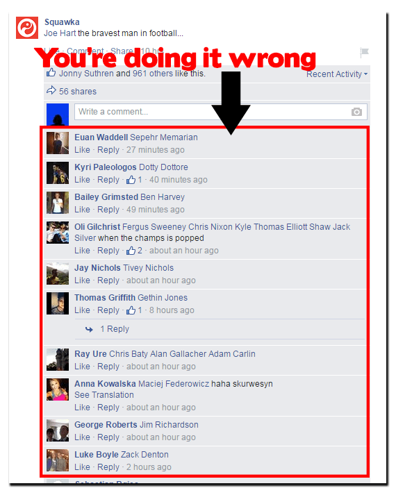 How you're sharing things on Facebook wrong