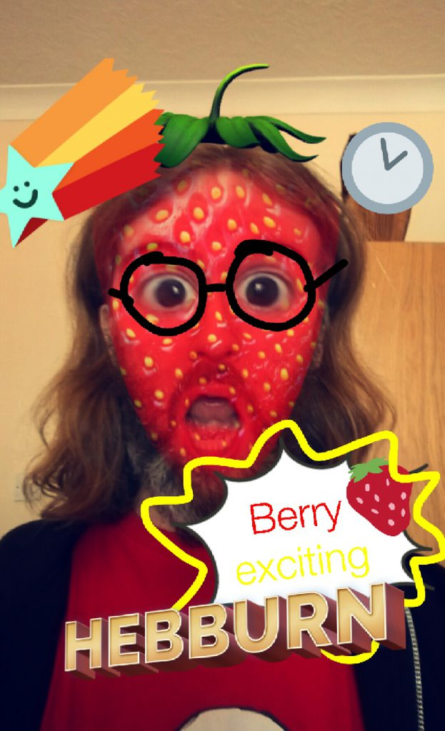 Berry exciting snapchat image