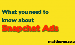 What you need to know about snapchat ads