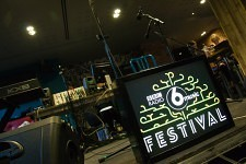 BBC 6 Music Festival Sign