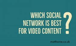 Which social network is best for video content