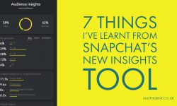 7 Things I've Learnt From Snapchat's Insights Tool