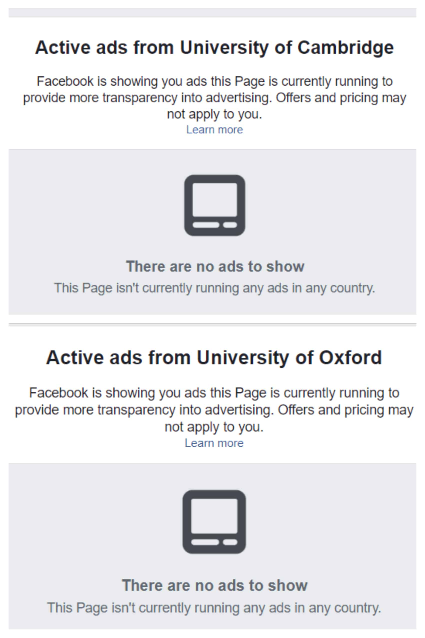 6 Things You Can Learn From Facebook's Ad Transparency Tools